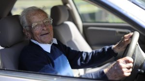 image of Cyril Sutton, 100 year old driver from Australia