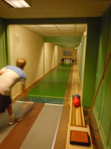 Kegel Bowling ... entertaining Germans since the Middle Ages.