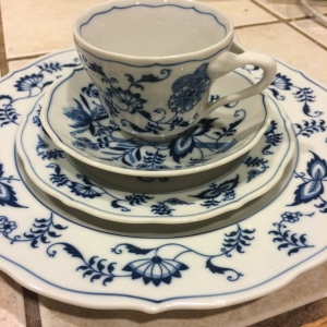 Blue Danube ... my grandmother's china pattern
