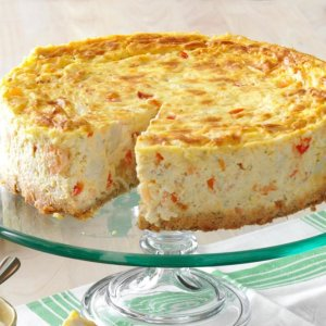 Creole-Shrimp-Cheesecake