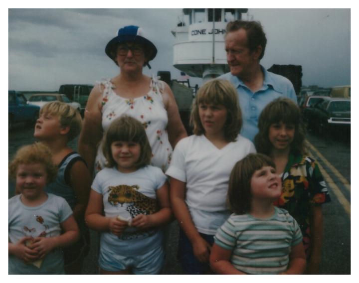 Galveston trip 1982