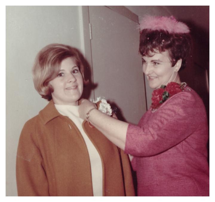 Thelma Kay Wedding Corsage